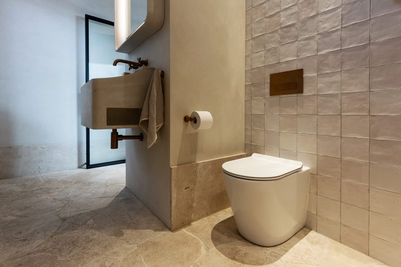 Milu Odourless toilets eliminate bathroom odours at the source.