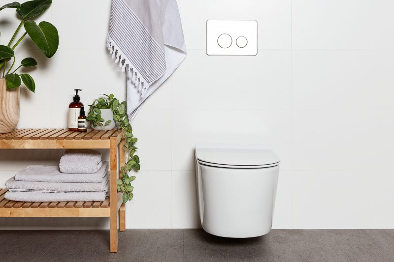 Milu Odourless Mod in-wall wall mounted toilet suite