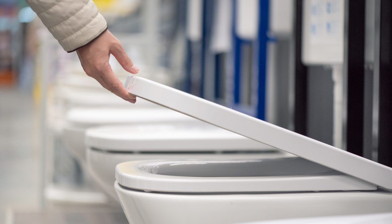 Browsing toilet choices
