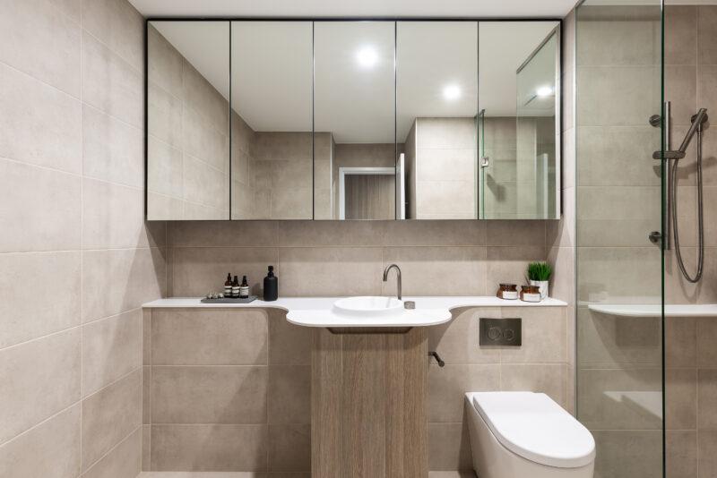 Bathroom at Natura