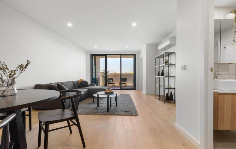 The Grounds Braddon, apartment interior
